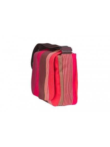 Besace Cordoba shoulder bag, basque linen