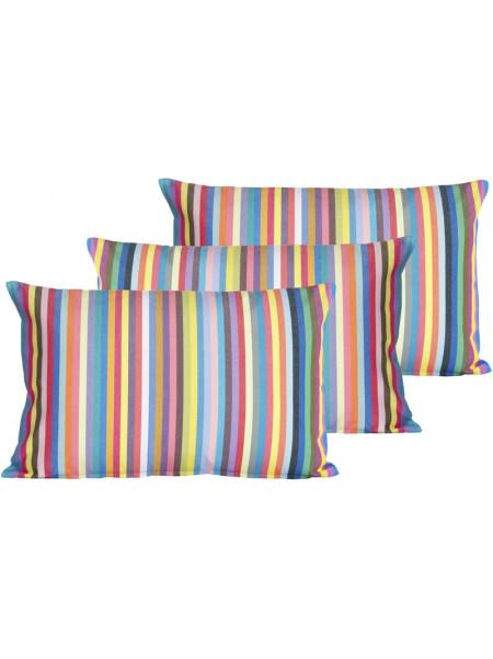 Cushion cover with zipper Salvador basque household linen