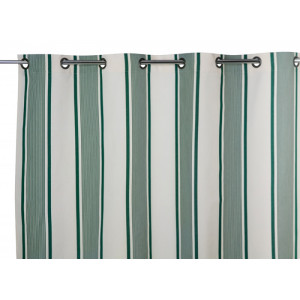 Curtains Maïté Vert curtains, basque household linen