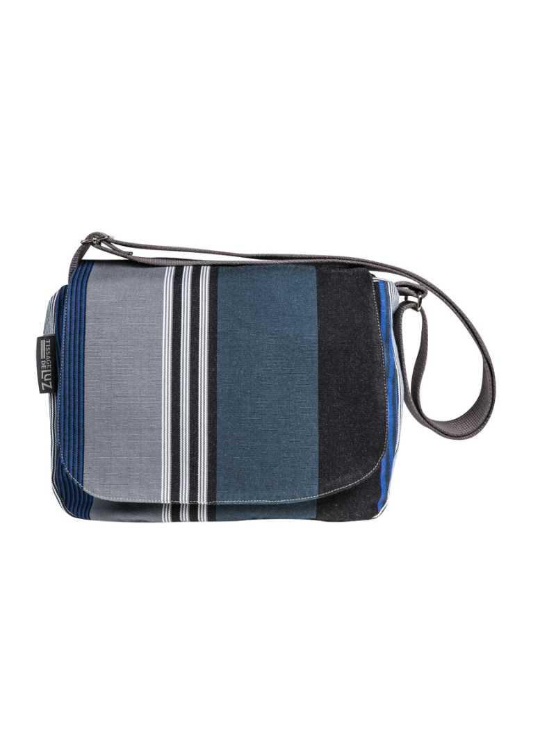 Besace Miramar- shoulder bag, basque linen