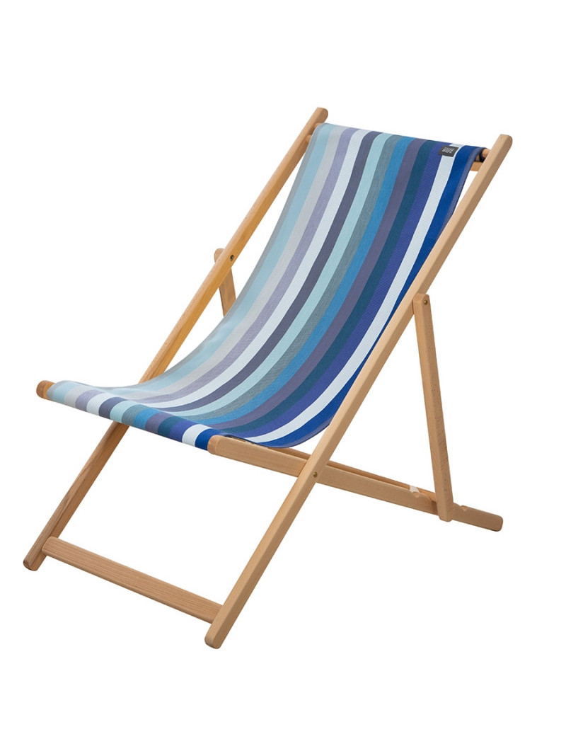 Deckchair Alcyons basque linen deckchairs