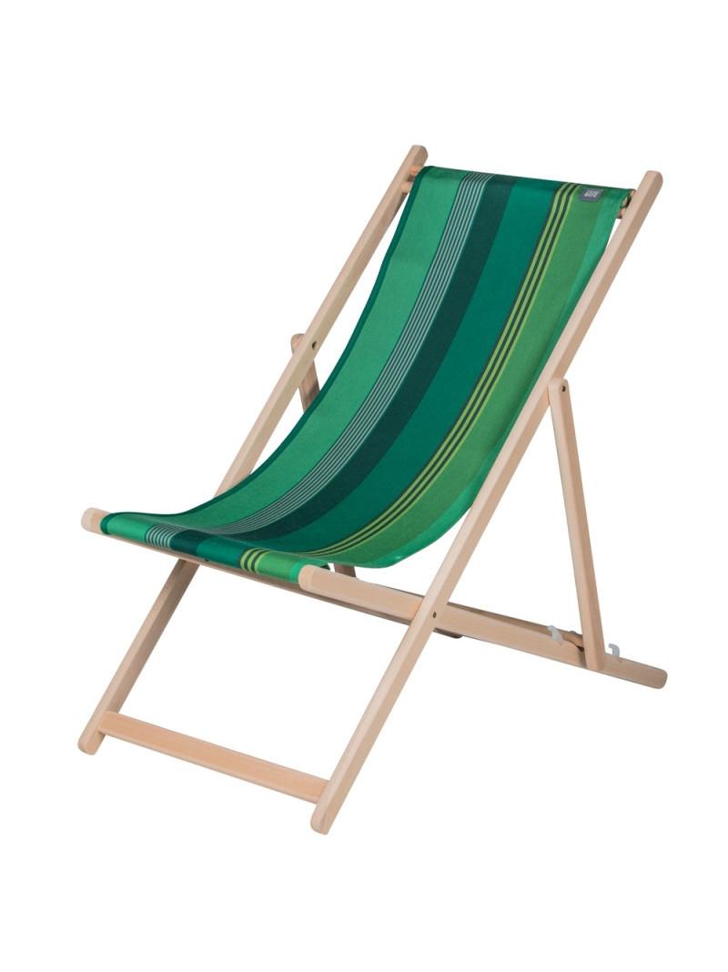 Deckchair Chiberta basque linen deckchairs