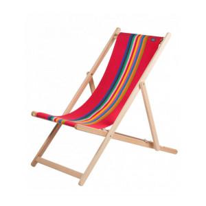 Deckchair Marbella basque linen deckchairs