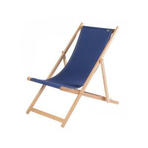 Deckchair Uni Outre-Mer basque linen deckchairs