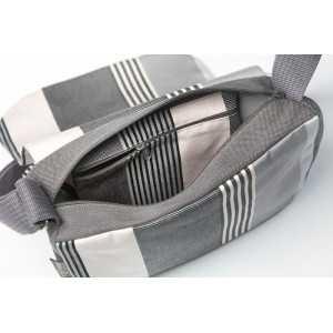 Besace Borda- shoulder bag, basque linen
