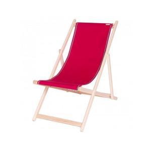 Deckchair Uni Grenade basque linen deckchairs