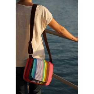 Besace Surfing sac besace en tissu basque