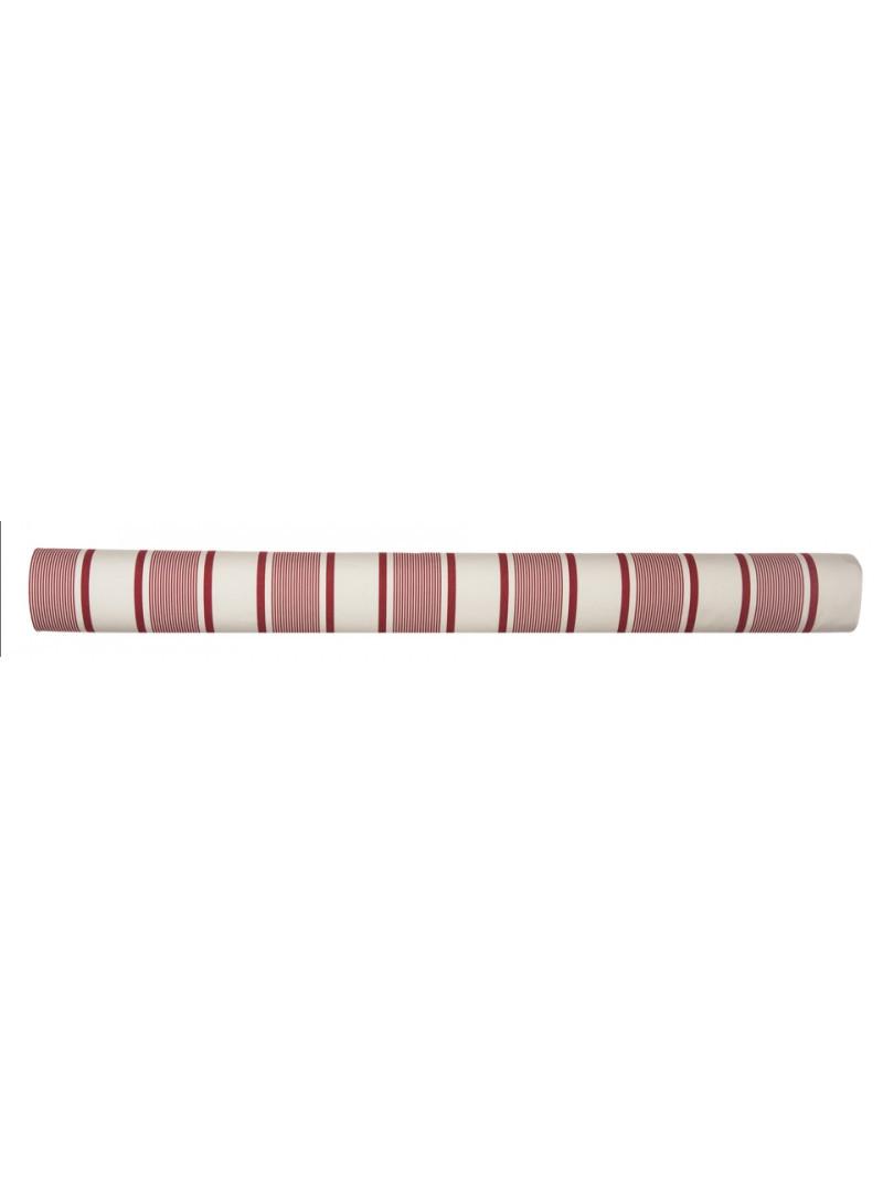 Métrage enduit Maïté Rouge coton enduit et toile cirée au mètre en tissu basque