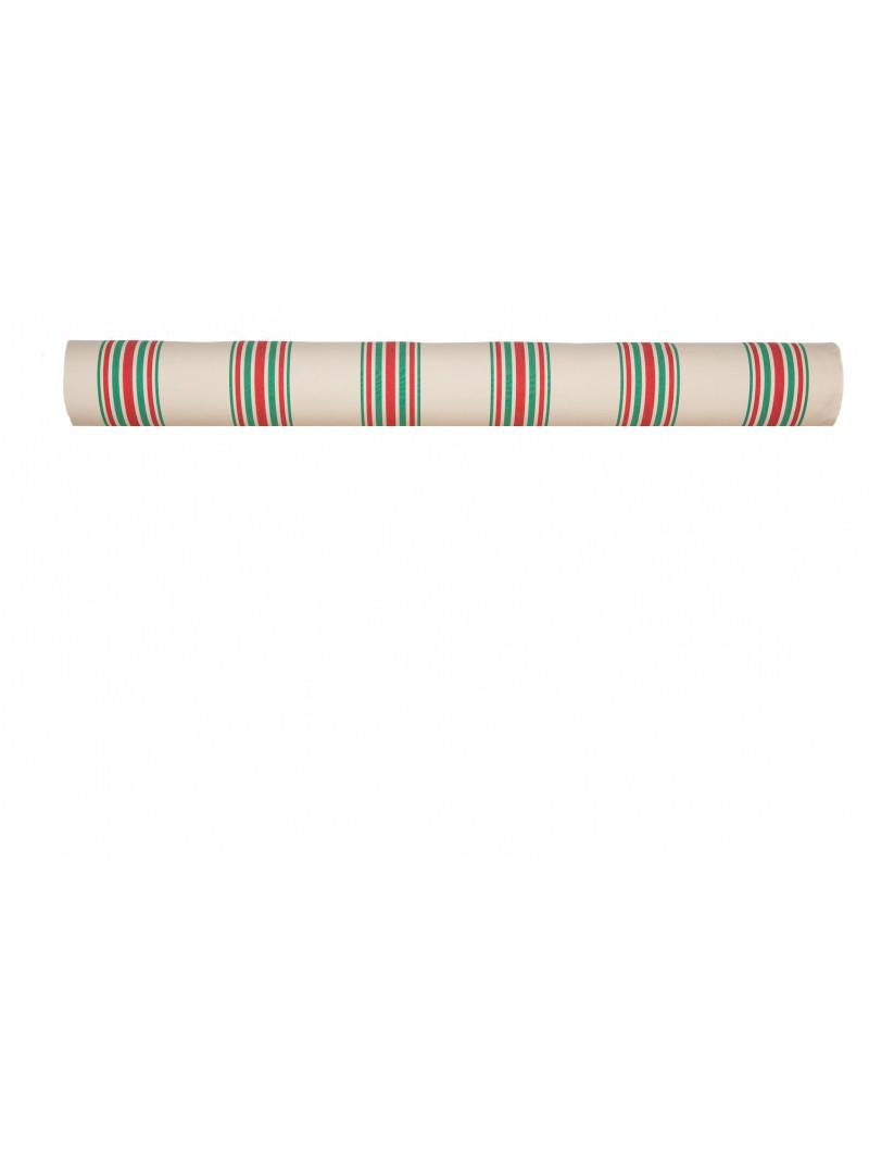 Métrage enduit Tradition Maritxu- coton enduit et toile cirée au mètre en tissu basque