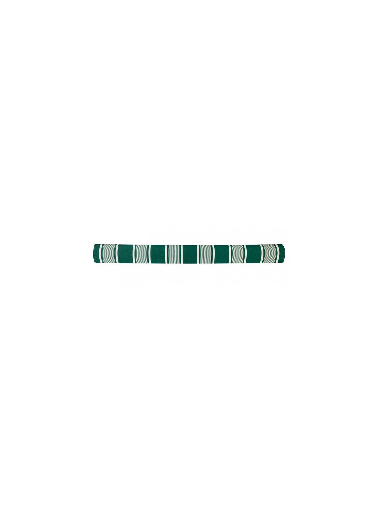 Métrage enduit Yvonne Vert coton enduit et toile cirée au mètre en tissu basque