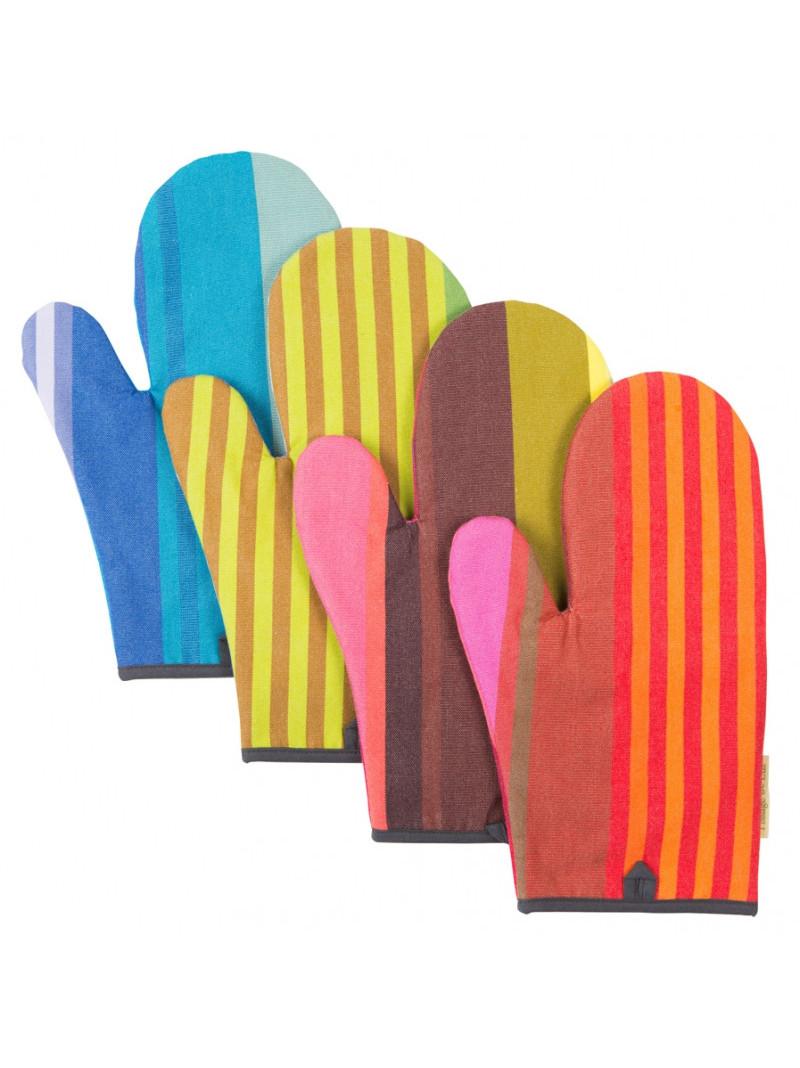 Oven Gloves Surfing basque kitchen linen