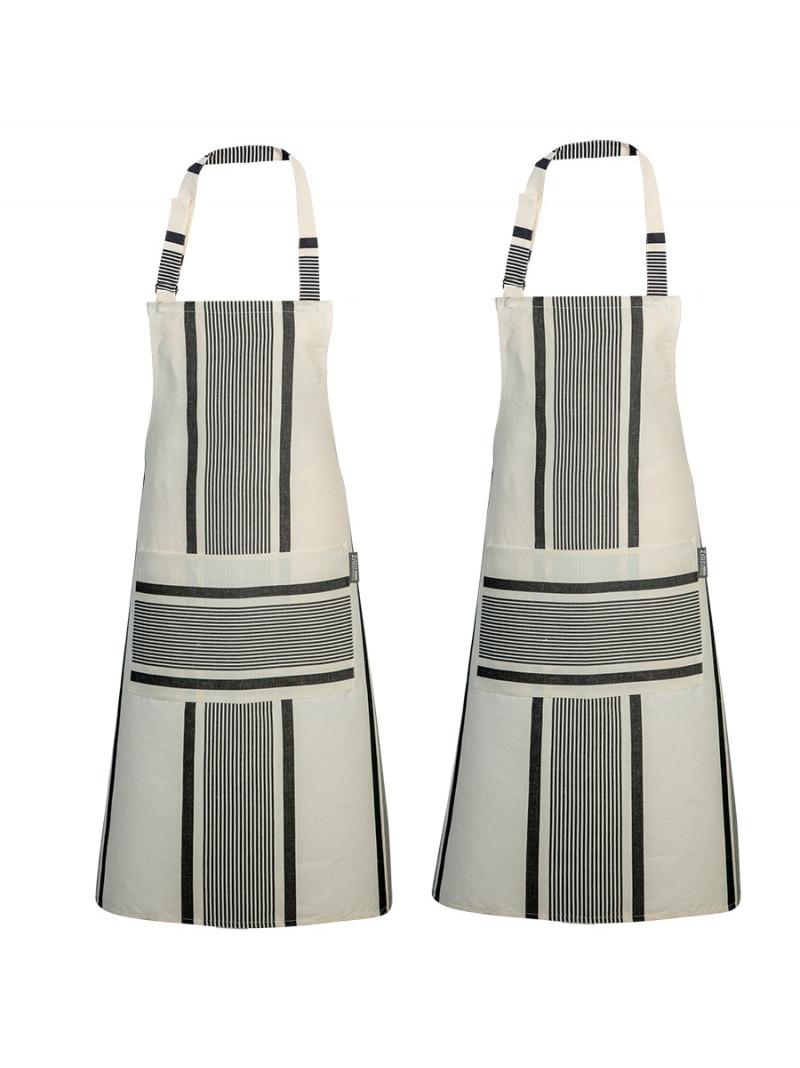 Aprons Maïté Encre- basque kitchen linen