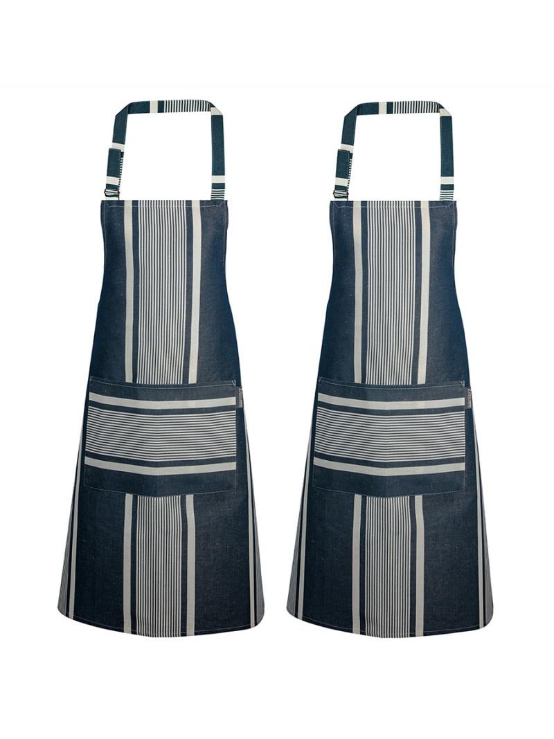 Aprons Yvonne Denim basque kitchen linen