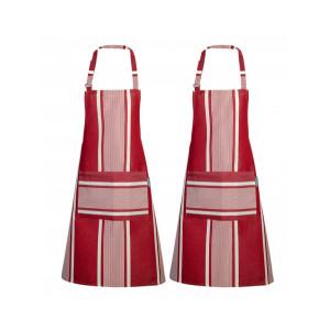 Aprons Yvonne Rouge- basque kitchen linen