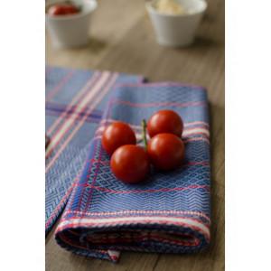 Tea towels Félix Bleu basque kitchen linen