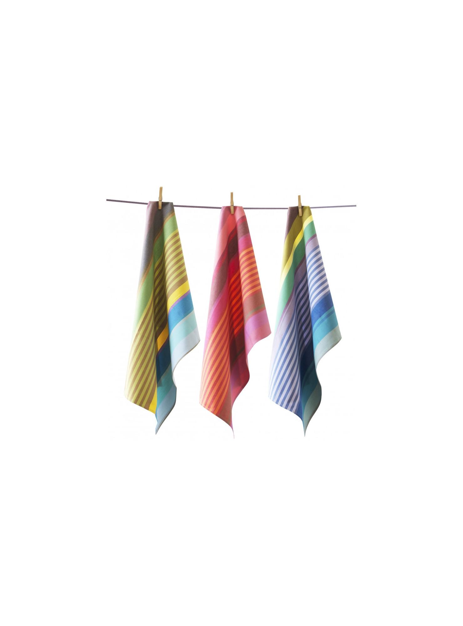 Tea towels Surfing basque kitchen linen
