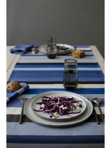 Runners Beaurivage tableware basque linen