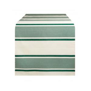 Chemin de table Maïté Vert linge de table basque