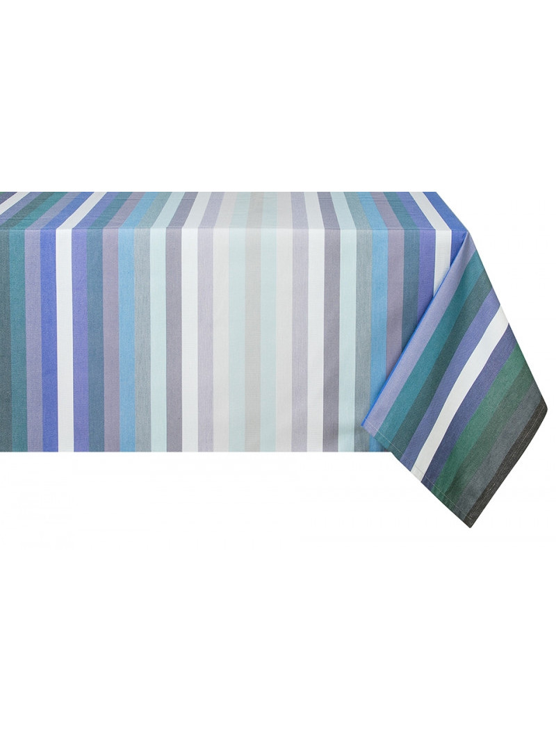 Cotton tablecloth Alcyon tableware basque linen