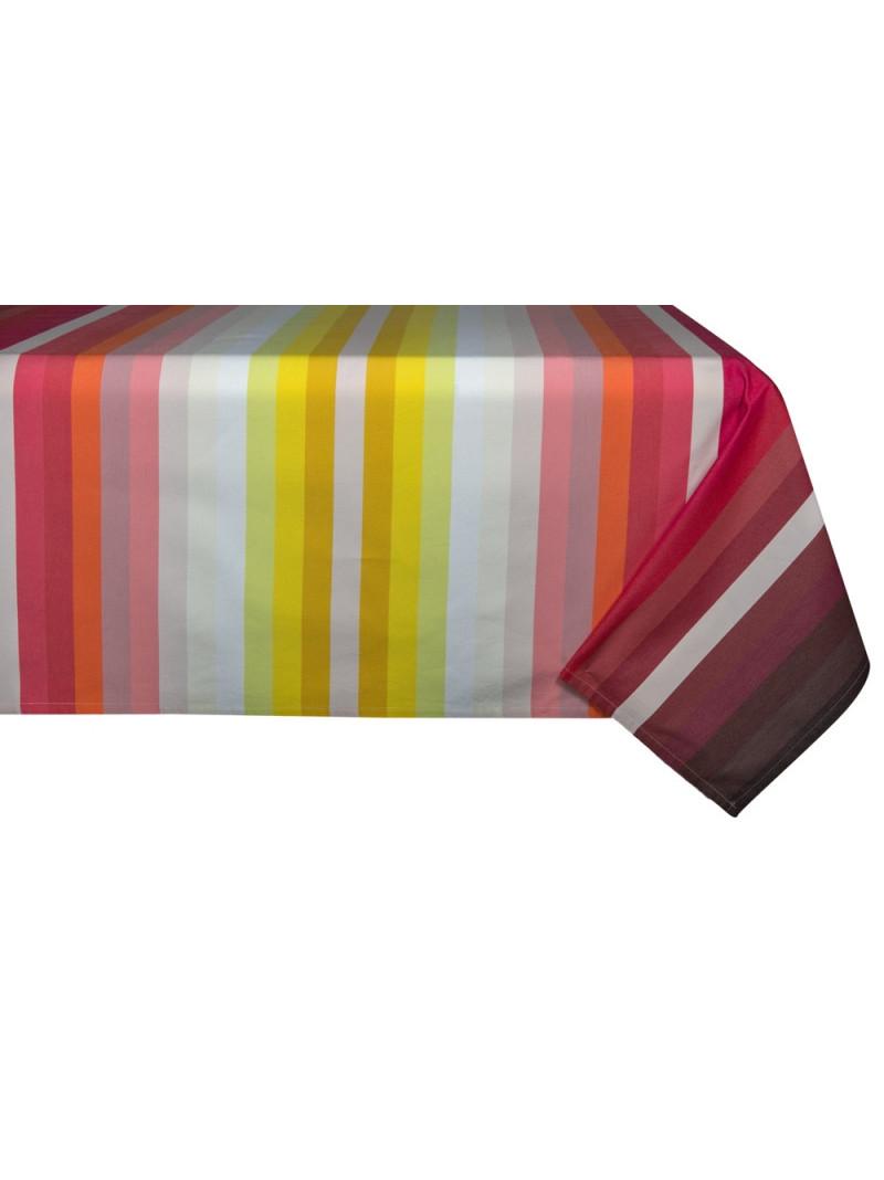 Nappe coton Casamance en tissu basque