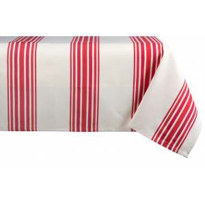 Cotton tablecloth Tradition Pipera tableware basque linen