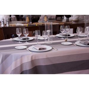 Cotton tablecloth Ottoman Rhune tableware basque linen