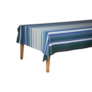 Coated tablecloth Alcyon tableware basque linen