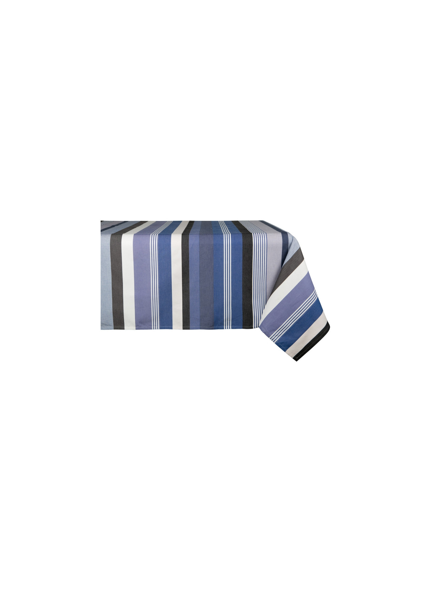 Coated tablecloth Beaurivage tableware basque linen