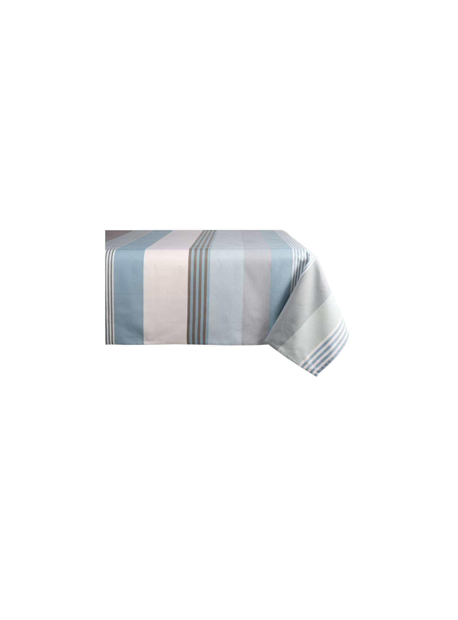 Coated tablecloth Belle-île en Mer tableware basque linen