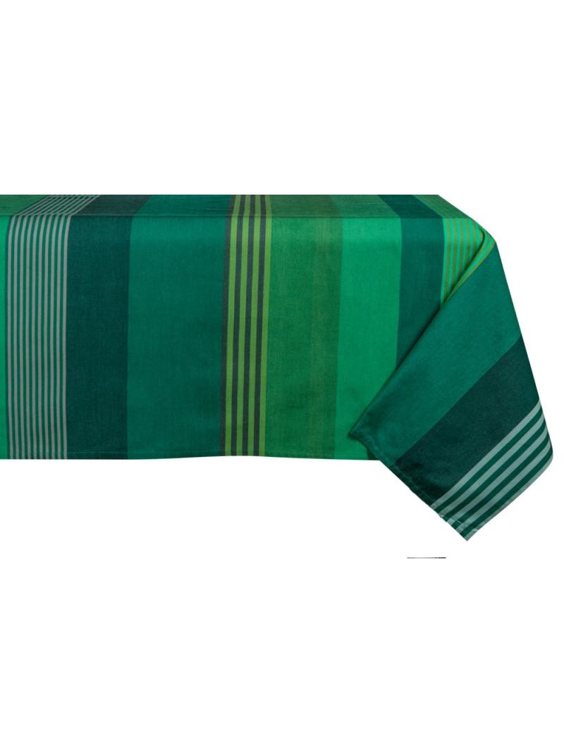 Coated tablecloth Chiberta tableware basque linen