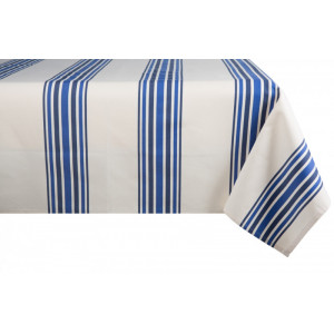 Coated tablecloth Tradition Donibane tableware basque linen