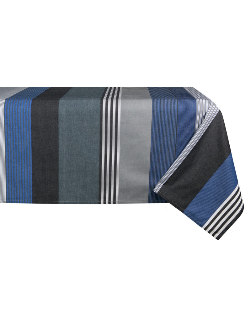 Coated tablecloth Miramar tableware basque linen